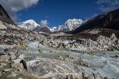 Mountain Himlung Himal m.) and Dudh Khola river Mount Everest, River, Explore, Mountains, Nature, Photography, Naturaleza, Fotografie, Photography Business