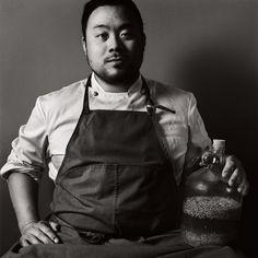 david chang. chef portraits.
