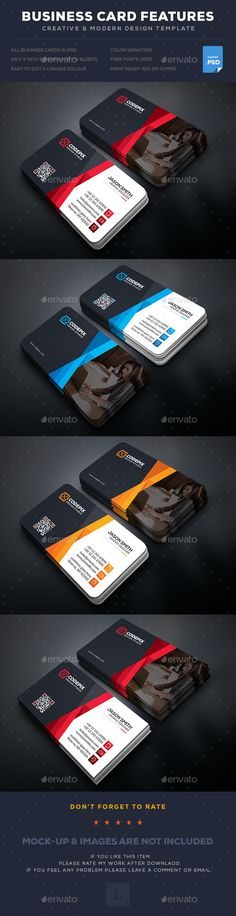 Business Card Template PSD. Download here: https://graphicriver.net/item/business-card/17401229?ref=ksioks