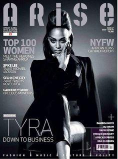 Tyra Banks: Arise Magazine Photoshoot