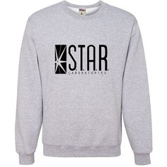 Adult Star Labs Sweatshirt Crewneck By Go All Out ($1,295) ❤ liked on Polyvore featuring tops, hoodies, sweatshirts, crew neck sweatshirts, crew-neck tops, crewneck sweatshirt, crew top and crew-neck sweatshirts