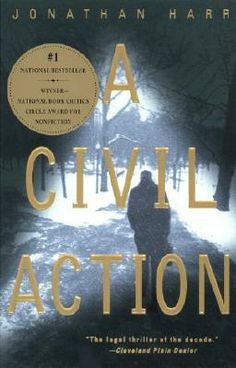 A Civil Action by Jonathan Harr.  A interesting account of litigation gone wrong.  Heartbreaking.