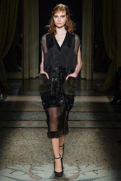 Aquilano.Rimondi Fall 2014 Ready-to-Wear Fashion Show - Dasha Gold