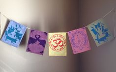 Yoga & Animal Compassion Prayer Flags | by Rambling Dream