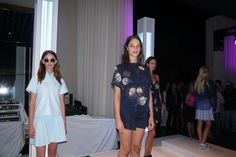 Fashion show at Stand Out In Style After Party at Franklin