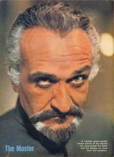 The Master/Roger Delgado  My favorite Master Incarnation