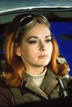 "1967 bond girl -Karin Dor in the 1967James Bond film, ""You Only Live Twice."""