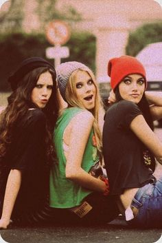 (Left to Right) Claire, Gabby, Taylor