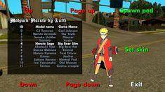 GTA SAN lite mod Naruto by lutfi - Handuk Terbang Naruto Vs Sasuke, Sport Cars, Gta, Sports Car Racing