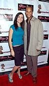 """At the premier for my film """"Fallen Angels"""" at the Mann's Chinese Theater with Rick Irvin."""