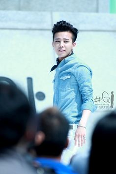G-Dragon (지드래곤) - Visit Korea CF Shoot (04/20/12).