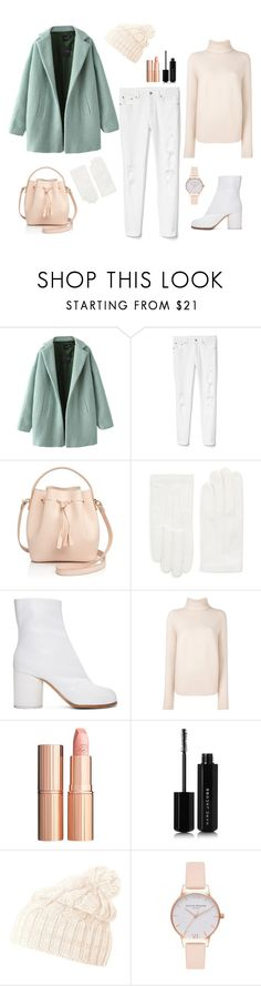 """Untitled #319"" by bajka2468 ❤ liked on Polyvore featuring Gap, Céline Lefébure, RED Valentino, Maison Margiela, Christian Wijnants, Charlotte Tilbury, Marc Jacobs, Helly Hansen and Olivia Burton"