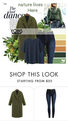 """""""Yoins 26"""" by lejlamoranjkic ❤ liked on Polyvore featuring Anja, Uniqlo, women's clothing, women, female, woman, misses and juniors"""