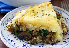 5 Comforting, Easy, and Healthy Vegan Casseroles. Pictured: Lentil and Mushroom Shepherd's Pie.