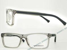 EMPORIO ARMANI 3002F クリアブラックメガネフレーム 眼鏡