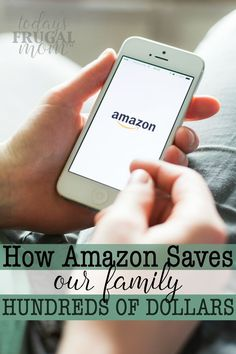 amazon saves our family hundreds