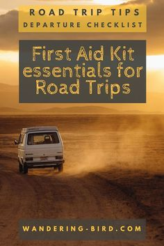 Did you know you could be IMPRISONED for NOT stopping to help at an accident?? What are the European First Aid Kit requirements? Do YOU meet them for your road trip? Are YOU breaking the law?? Here's everything you need to know. #roadtrip #firstaid #europe #travel #motorhome