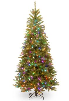 Trend  u Green Fir Artificial Christmas Tree with LED Multicolor
