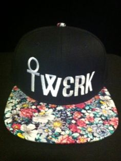 Twerk dat a$$ like a pro in the official floral print TWERK snapback from Lurker.   One size fits all. Ghetto booty not included.  All orders come with a limited edition Hood sticker from Lurker