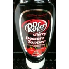I'm learning all about Dr Pepper Dessert Topper at @Influenster!