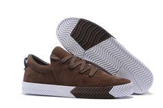 save off 55856 2f3f3 Mens Alexander Wang x Adidas Originals AW Low Skate Shoes Dark BrownWhite  BY1687 Skate
