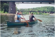 Who doesn't love canoeing down the Delaware?  courtesy of Diana Tietsworth-Cashman