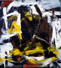 X1968.07.08, At Fried's, unknown date, Michael Goldberg, oil on canvas