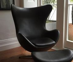 Black Egg Chair - Great Deals on Living Room Chairs