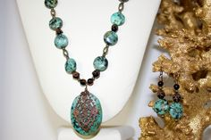 Vintaj African Turquoise (Lima Beads Design Gallery)