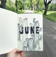 🌵June is finally here which means summer break in two weeks for me 🤩 as you can see, I'm doing a cactus theme for this month and I… Bullet Journal Designs, Bullet Journal Cover Ideas, Bullet Journal Aesthetic, Bullet Journal Themes, Bullet Journal Spread, Bullet Journal Layout, Journal Covers, Bullet Journal Calendar, Bullet Journal June
