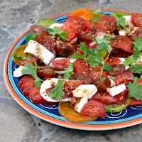 The Foodie Couple: Mexican Style Caprese Salad