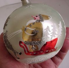 Christmas Ornament Poland by trashtotreasureart on Etsy, $9.95