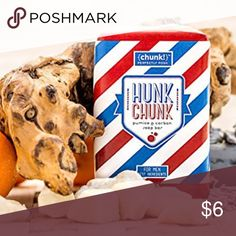 HUNK CHUNK CHUNK Get a manly clean with pumice, which removes dirt by exfoliating, and carbon, which holds up to 2,000 times its weight in impurities, in this heavy duty Chunk with a moisturizing shea and palm fruit oil base, fragranced with woodland fir, fresh citrus, and amber musk. Perfectly Posh Makeup
