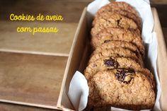 Cookies de Aveia e Passas e uma aventura na terra da Rainha