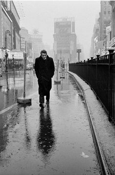 James Dean on Times Square by Dennis Stock