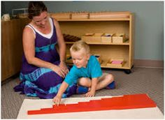 Image result for montessori red rods