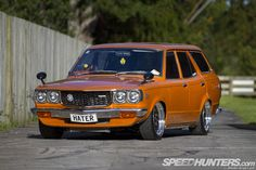 RX-3-fronted Mazda 808 wagon