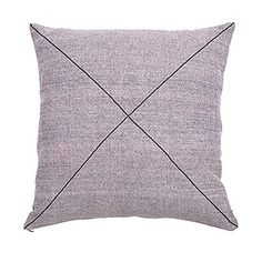 CUSHION | square tri-weave khadi in blush by one another design | Cranmore Home