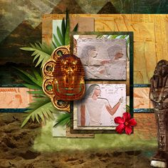 Pictures taken at The Nelson Atkins.  Kit: Kastagnette's Toutankhamon  Template: Brenian Designs' Friendship Matters 1 available at http://www.godigitalscrapbooking.com/shop/index.php?main_page=product_dnld_info&cPath=234_398_392&products_id=25117