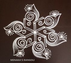 Rangoli Colours, Rangoli Patterns, Rangoli Ideas, Kolam Rangoli, Easy Rangoli, Rangoli Designs Latest, Beautiful Rangoli Designs, Kolam Designs, Small Rangoli