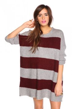 Chunky Stripe Sweater