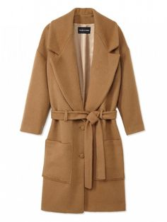 This coat will get you through every event this holiday season // Filles A Papa Lenny Oversized Coat