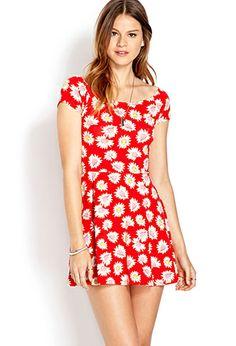 Sunflower Skater Dress | FOREVER21 - 2000069944