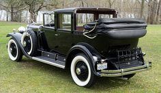 1929 CADILLAC FLEETWOOD TRANSFORMABLE TOWN CABRIOLET - Barrett-Jackson Auction Company - World's Greatest Collector Car Auctions