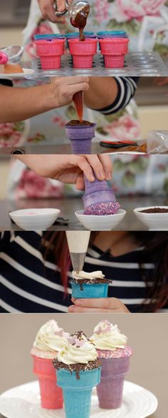 Cupcake Maniacs 16: Falsos Cupcakes Helados