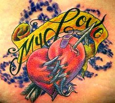 a tattoo for a mended heart by DW3D on deviantART