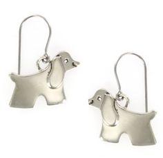 Cocker Spaniel Dog Dangle Sterling Silver Earrings AJ, http://www.amazon.com/dp/B003M6PIJC/ref=cm_sw_r_pi_dp_Mi1.pb0CR1EFH
