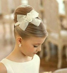 Lovely hair style for the little ones