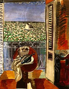 Raoul Dufy: View through the Window, 1925.