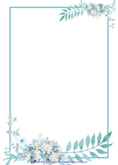 When planning your bridal shower or wedding party, make sure that you include all of the necessary information in your invitation card. You should states the date of the wedding, include the location where the ceremony and reception are taking place, Invitation Background, Floral Invitation, Flower Background Wallpaper, Flower Backgrounds, Printable Baby Shower Invitations, Baby Shower Printables, Molduras Vintage, Powerpoint Background Design, Floral Theme
